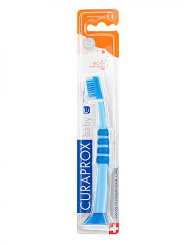 Baby Zahnbürste blau-blau