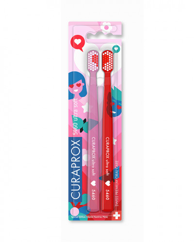 Toothbrush CS 5460 Love Edition, 2 pcs